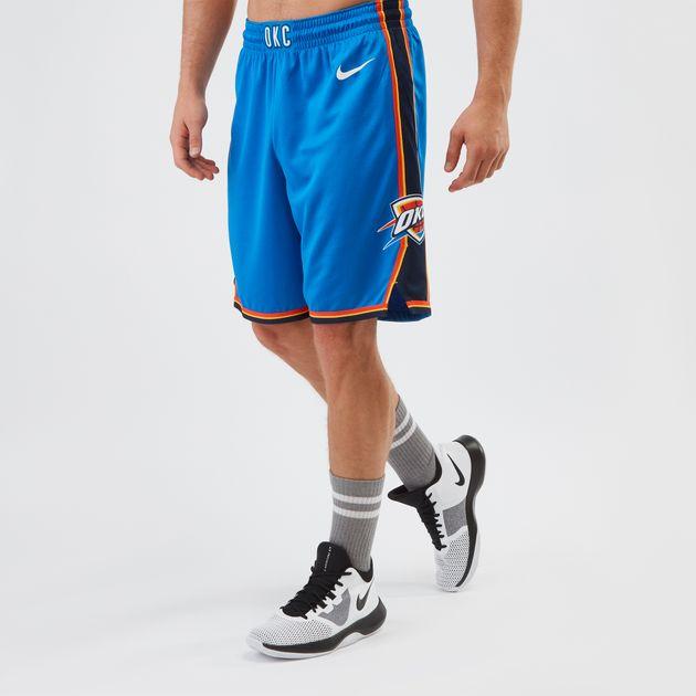 7c73b8bb700 Nike Oklahoma City Thunder Swingman Shorts | Shorts | Clothing ...