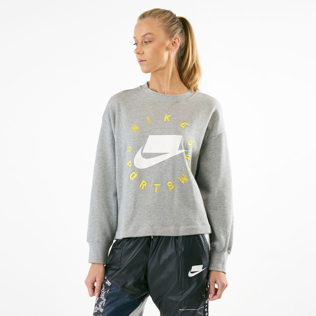 746a219cda7a Nike Women s Sportswear NSW French Terry Crew Sweatshirt ...