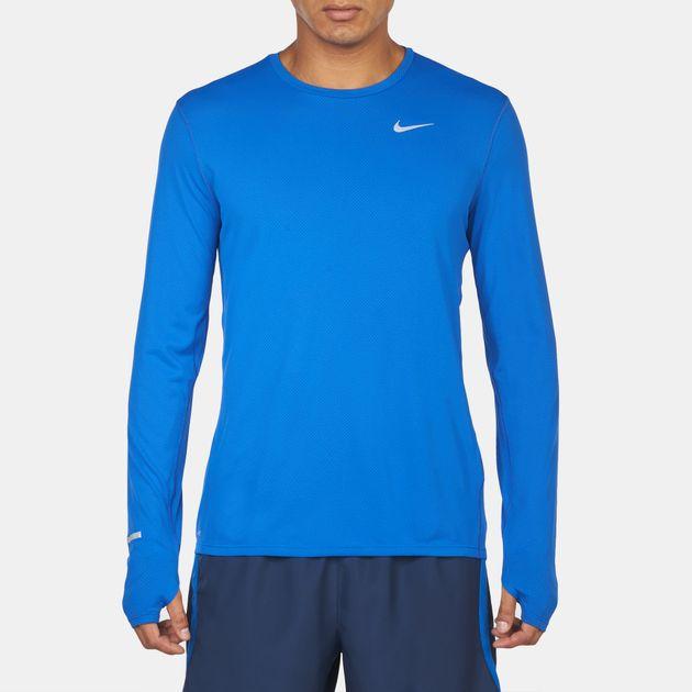 Nike Dri-FIT Contour Long Sleeve T-Shirt