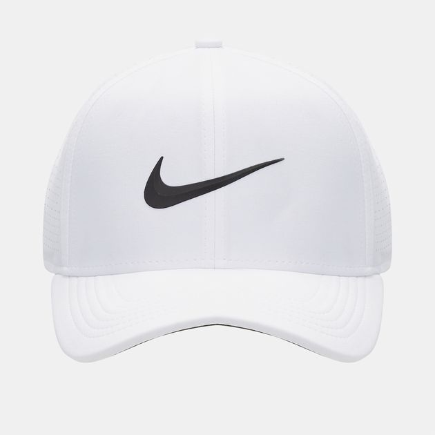 Shop White Nike Golf AeroBill Classic 99 Cap for Unisex by Nike Golf ... ddcbc9d7be2a