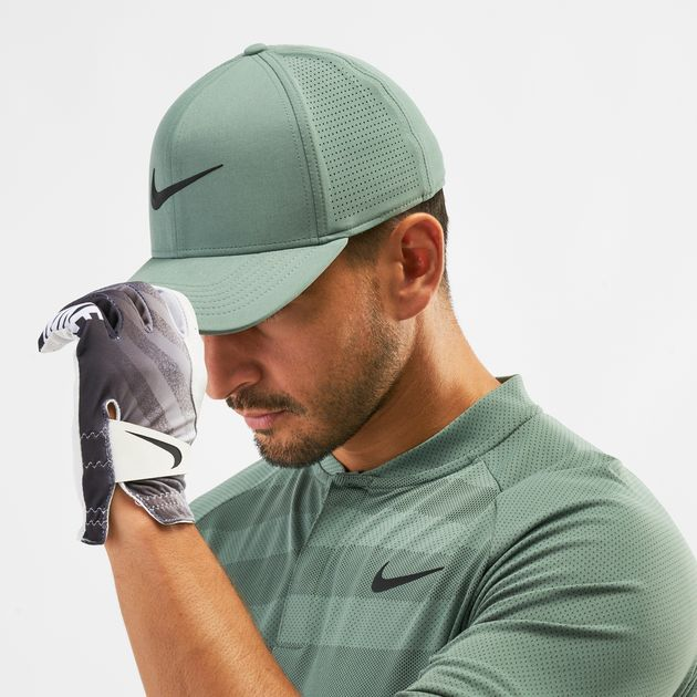 5e4a238f910b2 Shop Green Nike Golf Aerobill Classic 99 Cap | Caps | Caps and Hats ...