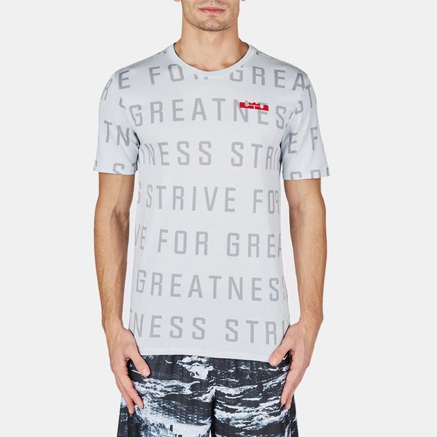 Nike LeBron Strive All Over T-Shirt