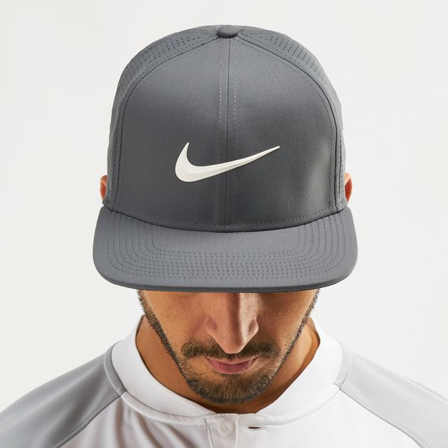 Shop Grey Nike Golf Aerobill Pro Cap  b577e5cfe20f