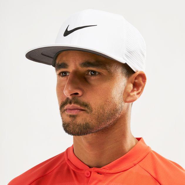 30cc4c3c98a0c Shop White Nike Golf Aerobill Pro Cap | Caps | Caps and Hats ...