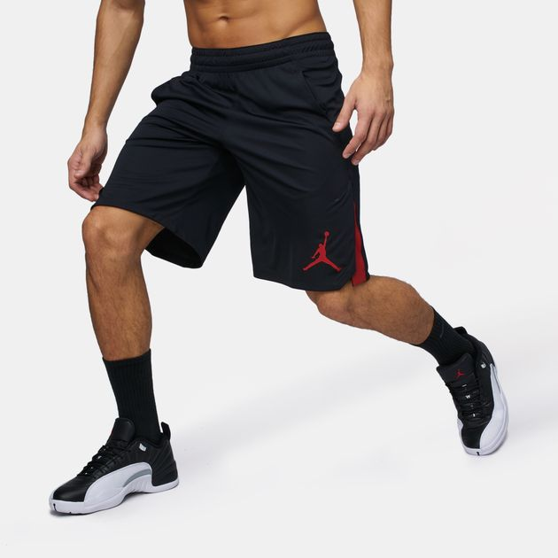 338a56211bd Shop Black Jordan 23 Alpha Knit Shorts for Mens by Jordan | SSS
