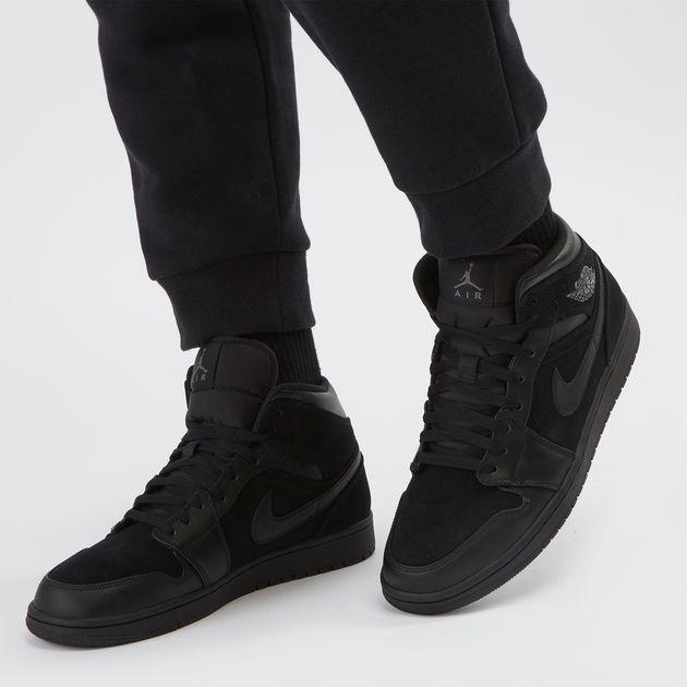 Shop Black Jordan Air Jordan 1 Mid Shoe  3d5d9015f9d
