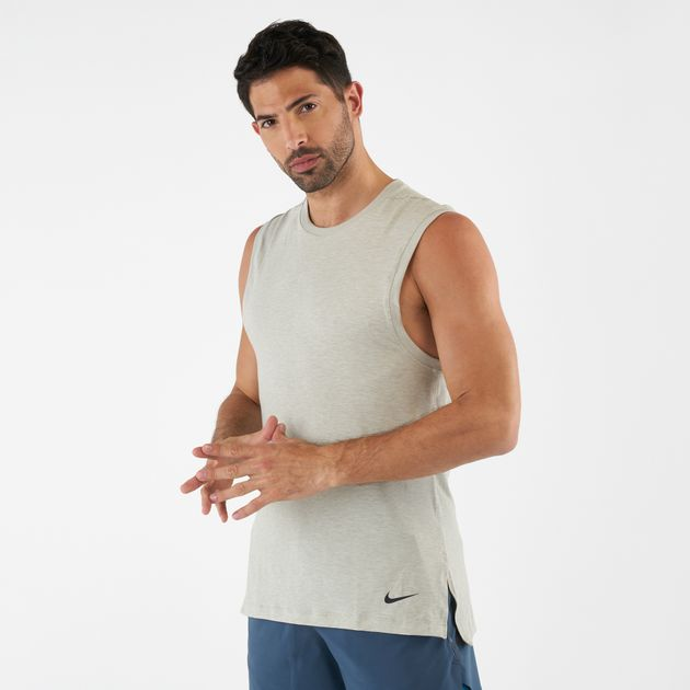 957fe4081239a Nike Men s Yoga Training Tank Top