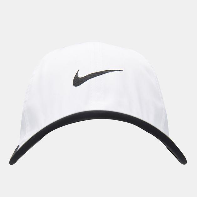 c8075cd1c84 Nike Men s Aerobill Featherlight Cap - White
