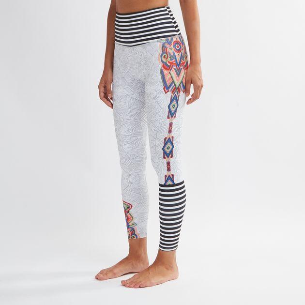 ea8de24d43 Shop Multi Onzie High Rise Graphic Midi Leggings for Womens by Onzie ...