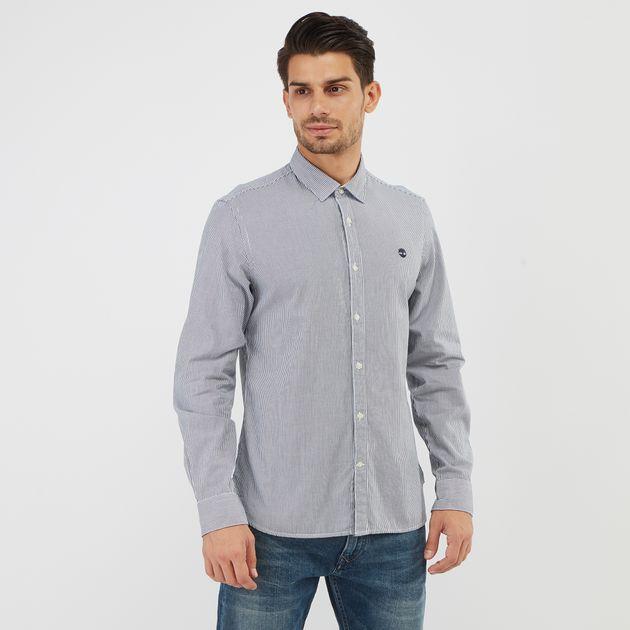 64c7776cf قميص ميلفورد سترايب اوكيفورد من تمبرلاند | قمصان للرجال | تيشرتات ...