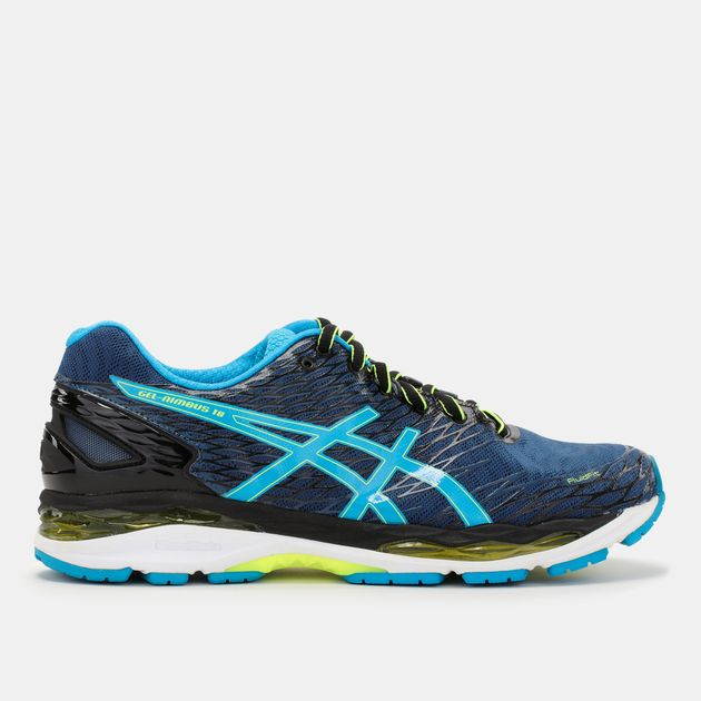 c7e7ec7d699f Shop Blue Asics Gel-Nimbus 18 Running Shoe for Mens by Asics