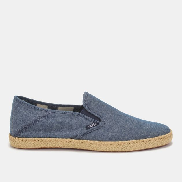 0815fb2430d Shop Blue Vans Classic Slip-on Espadrille Shoe for Mens by Vans