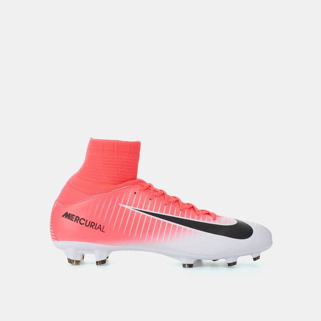 watch b0040 fcf26 Shop Pink Nike Kids' Mercurial Superfly V Firm Ground ...