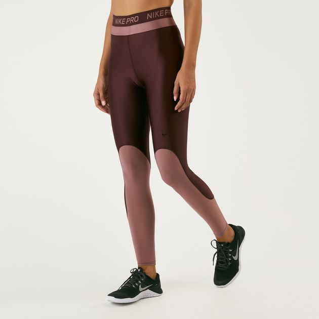 b31497e0eb5968 Nike Women's Pro Hypercool Mid-Rise Training Leggings | Full Length ...