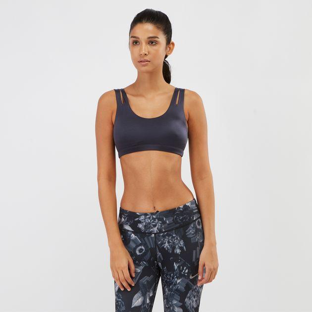 9912aec0d8 Shop Blue Nike Indy Shine Sports Bra