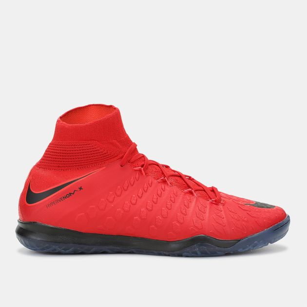 timeless design 347b7 1fcf6 Shop Red Nike HypervenomX Proximo II Dynamic Fit Indoor ...