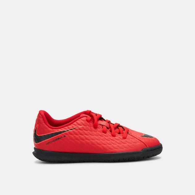 timeless design 9460a 24abd Shop Red Nike Kids' Hypervenom X Phade 3 Indoor Football ...