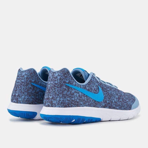 dcf3f5bab27a Shop Blue Nike Flex Experience RN 6 Premium Running Shoes for Mens ...