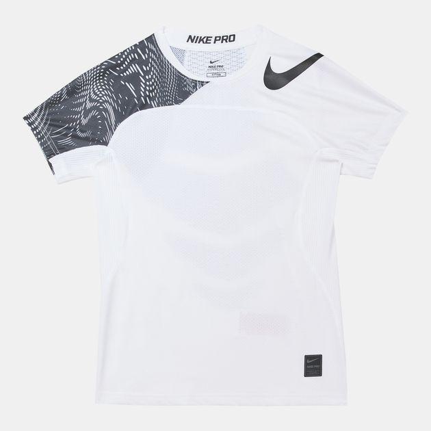 45aa0d373b22ba Shop Nike Kids Pro Hypercool Training T Shirt Nkap832537 101 ...