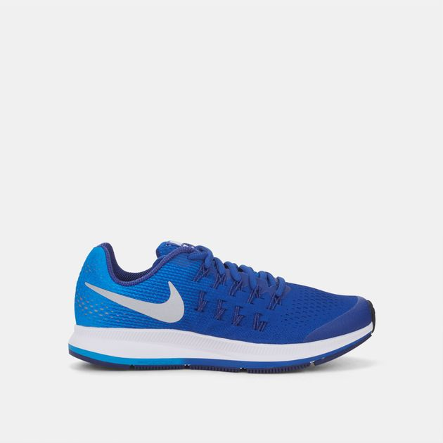 online store e6a4e c0e9f Shop Blue Nike Kids' Air Zoom Pegasus Grade School 33 Shoe ...