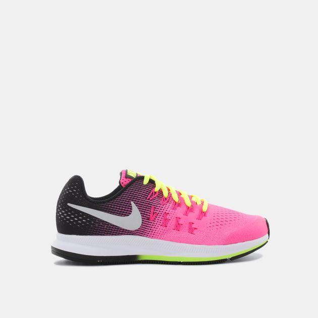 1bf73c37a47 Shop Pink Nike Kids  Air Zoom Pegasus 33 (Grade School) Running Shoe ...