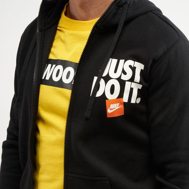 Nike Men's Sportswear Just Do It Fleece Pullover Hoodie