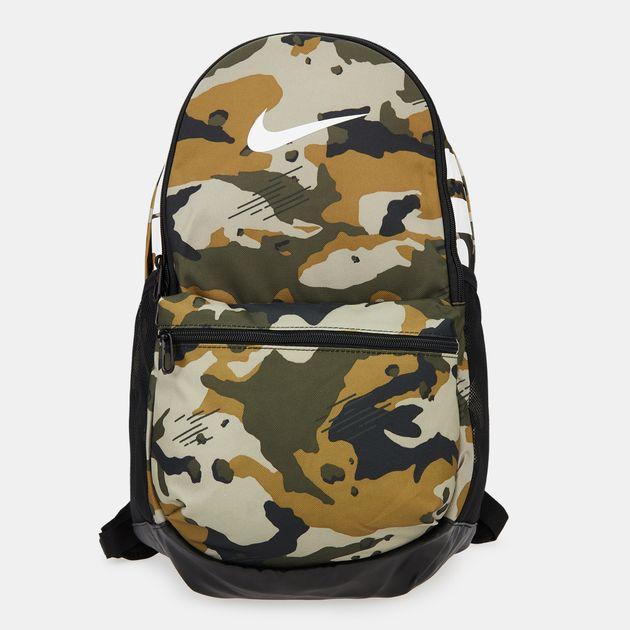 promo code 318dd 3a186 Nike Brasilia All Over Print Backpack - Beige, 1605845