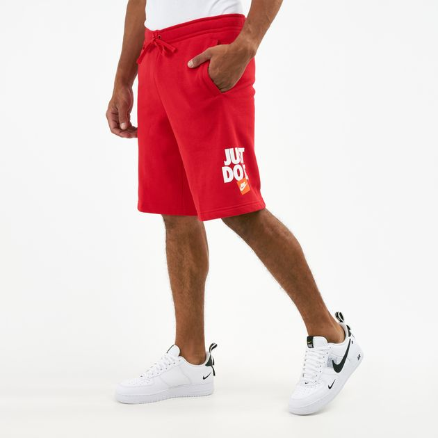 7c3ecafdfc2 Nike Men's Sportswear JDI Fleece Shorts