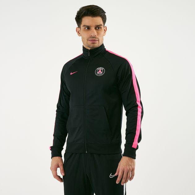 reputable site 016c4 781dd Nike Men's Sportswear Paris Saint Germain Full Zip Jacket