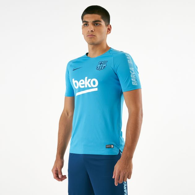 96ce24191492 Nike Men s Breathe FC Barcelona Squad Football T-Shirt