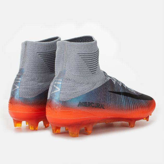 premium selection cf94a a75a9 Shop Grey Nike Mercurial Superfly V CR7 Firm Ground Football ...
