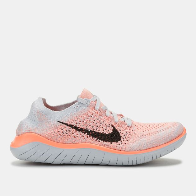 55b15af7d98b0 Shop Orange Nike Free RN Flyknit 2018 Shoe for Womens by Nike - 2