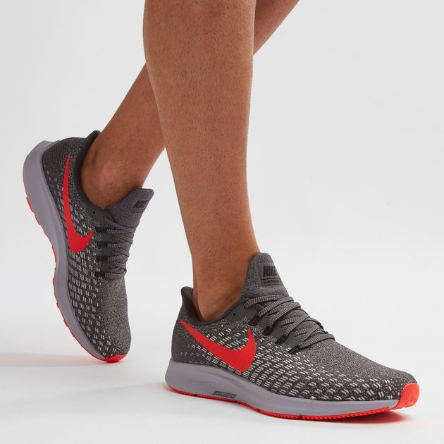 b47f07a4a4 Grey Nike Air Zoom Pegasus 35 Shoe | Road Running | Running Shoes ...