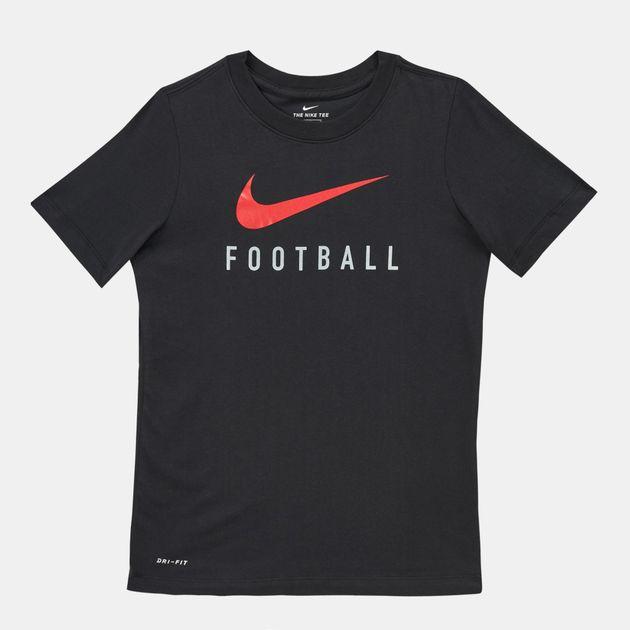 b24c6ce3e Nike Kids' Swoosh Dry Football T-Shirt (Older Kids)   T-Shirts ...