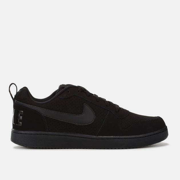 455995dbb041d7 Shop Black Nike Court Borough Low Shoe for Mens by Nike