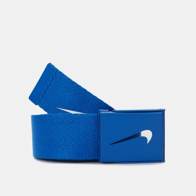 9aa4916831 Shop Blue Nike Golf Tech Essentials Single Web Belt for Mens by Nike ...