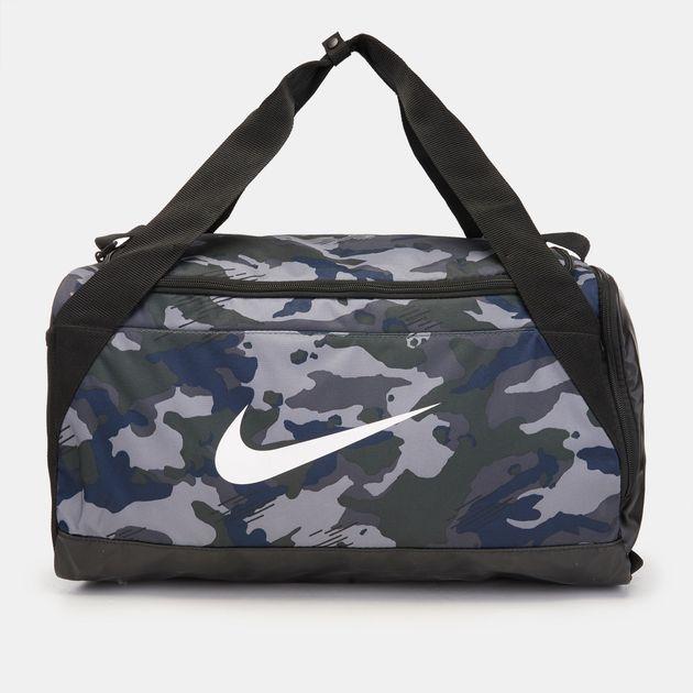 Nike Brasilia Small Duffle Bag - Grey