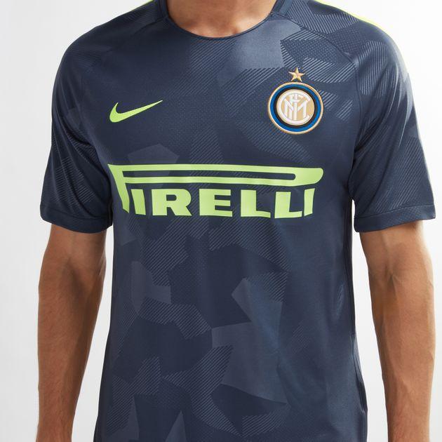 official photos 80e13 6b79a Shop Blue Nike Inter Milan Football Third Jersey - 2017/18 ...