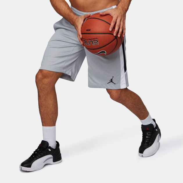 d3b5763be0cfe Shop Grey Jordan Flight Shorts for Mens by Jordan | SSS