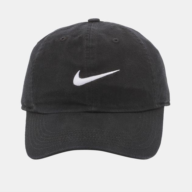 detailed look 1f6ba 6b1d4 Nike Kids  Swoosh Heritage 86 Cap (Older Kids) - Black, 399075