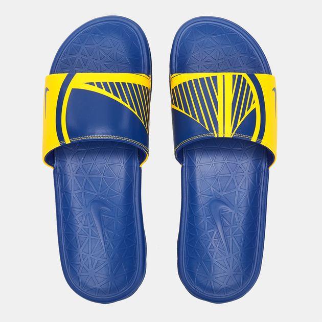 d1720de0686 Nike NBA Golden State Warriors Benassi Solarsoft Slides