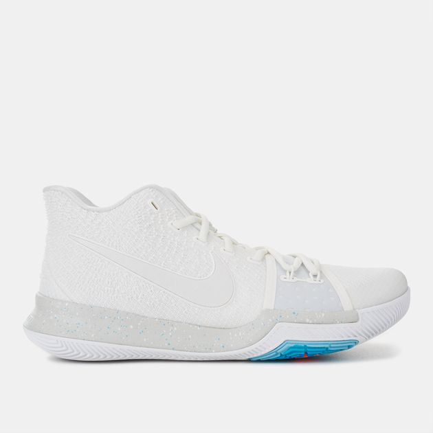 new styles 741b5 b390f Shop White Nike Kyrie 3 Basketball Shoe for Mens by Nike - 4 ...