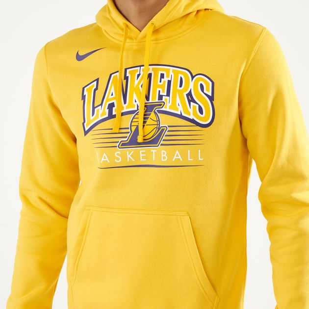new product a482f e4aa5 Nike Men s NBA Los Angeles Lakers Hoodie, 1574063
