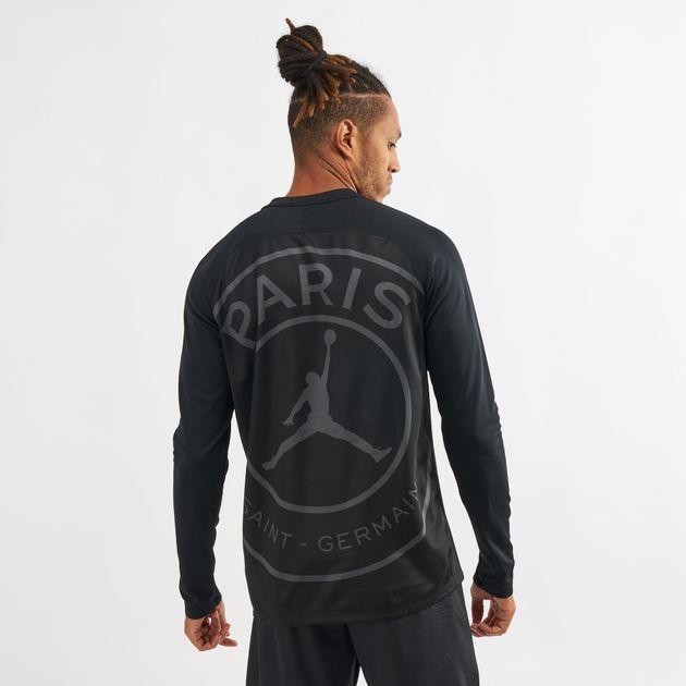 b9b21f78b Nike Dry Squad Paris Saint-Germain Long Sleeve T-Shirt   T-Shirts ...