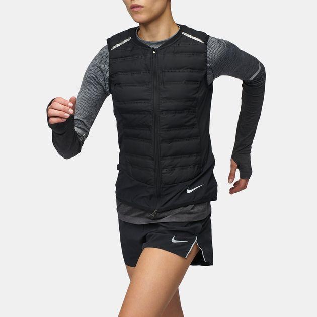 3dd5d5780 Shop Black Nike AeroLoft Vest for Womens by Nike   SSS