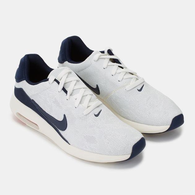 bae5c63956c9 Shop White Nike Air Max Modern Flyknit Shoe for Mens by Nike