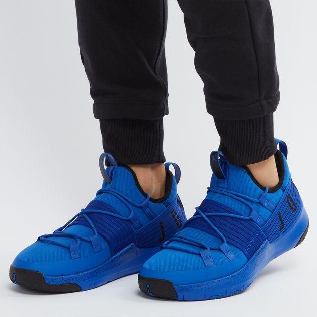 d3e2f7b584f8 Shop Blue Jordan Trainer Pro Training Shoe for Mens by Jordan