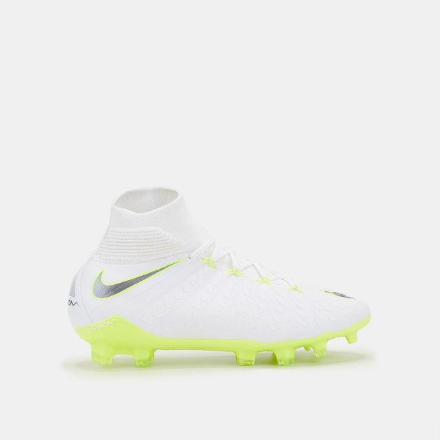 c8a60f43c Nike Kids  Hypervenom Phantom III Elite Dynamic Fit Firm Ground Football  Shoe (Older Kids