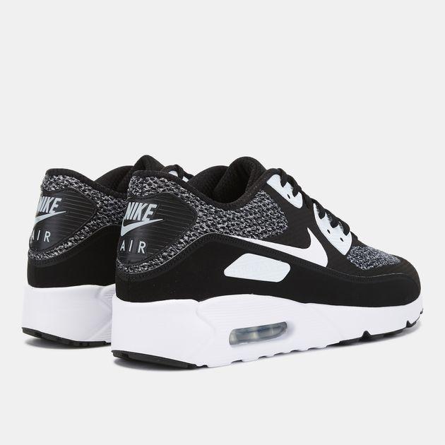 half off 7b33f cd90e Shop Black Nike Air Max 90 Ultra 2.0 Essential Shoe ...