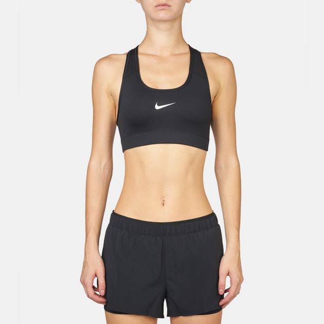 0e1f00f94f Shop Black Nike Victory Compression Sports Bra for Womens by Nike